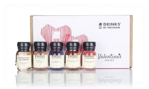 Valentines Gin Tasting Set